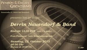 12.10.2013 Derrin Nauendorf & Band