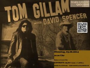 Tom Gillam with David Spencer – überzeugender Gitarrensound und sympathische Typen ohne Allüren