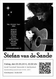 05.09.2014 Stefan van de Sande live on stage !