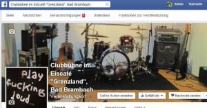 """Die """"Grenzland""""-Clubbühne auf Facebook"""