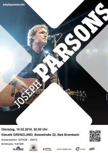 16.02.2016  JOSEPH PARSONS solo