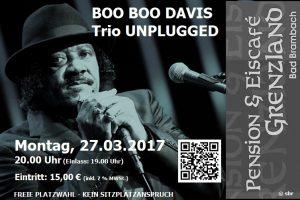 Boo Boo Davis Trio – Delta Blues on stage
