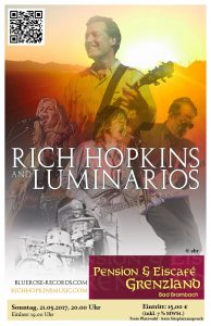 "21.05.2017 Rich Hopkins & Luminarios ""My Way Or The Highway""-Tour 2017 (Support: LL Cooper)"