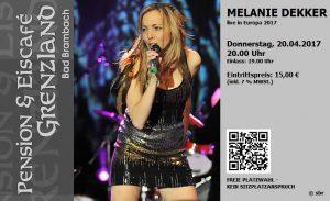 20.04.2017 Melanie Dekker Trio