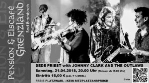 21.04.2018 DEDE PRIEST with JOHNNY CLARK AND THE OUTLAWS